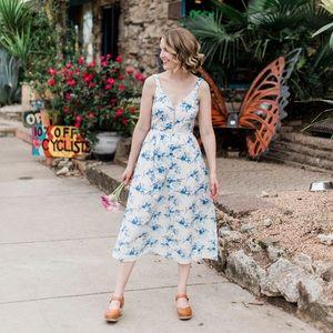 J.O.A Floral Dress - Worn Once